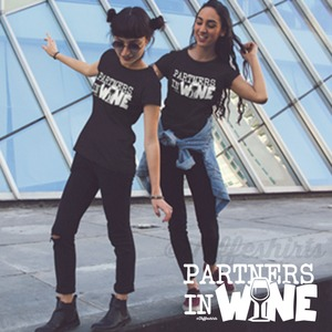 Partners in Wine shirt